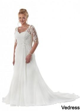 Vedress Beach Plus Size Wedding Dresses T801525317715