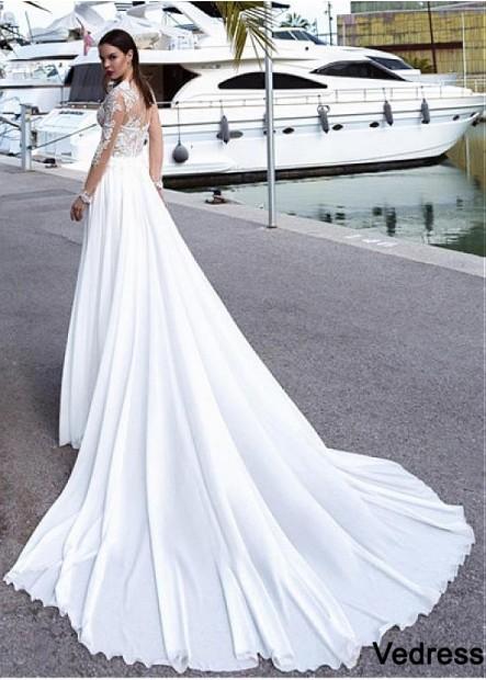 Vedress Beach Wedding Dresses T801525332421