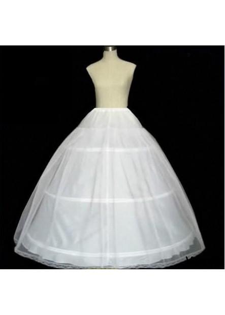 Three rings, One yarn, hard net skirt, lining cloth, elastic waist, petticoat T901554186573