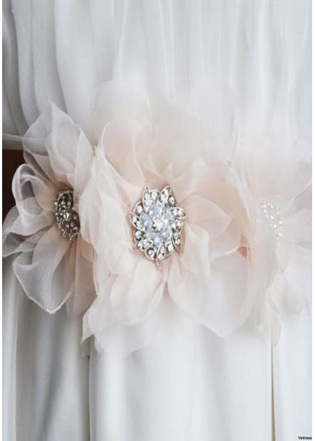 Unique Fashion Handmade Flower Wedding Clothing Accessories Sashes t901556002062